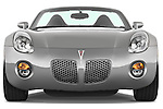 Straight front view of a 2008 Pontiac Solstice