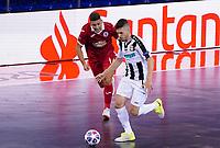 9th October 2020; Palau Blaugrana, Barcelona, Catalonia, Spain; UEFA Futsal Champions League Finals; Mrucia FS versus MFK Tyumen;   Ivan Milanov