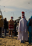 Every year, the town of Rehoboth Beach, Delaware, USA, attracts hundreds of visitors for the polar bear plunge in February.