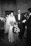 MATRIMONIO DEL PRICIPE RAIMONDO ORSINI E  KETEVAN BAGRATION    ROMA 1978