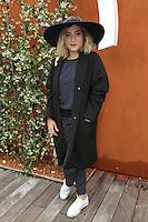 Marilou Berry seen at 'Le Village de Roland Garros' during Roland Garros tennis open 2016 on may 29 2016.