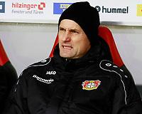 Heiko HERRLICH, Trainer Bayer Leverkusen,  Portraet,   Fussball, 1. Bundesliga  2017/2018<br /> <br />  <br /> Football: Germany, 1. Bundesliga, SC Freiburg vs Bayer 04 Leverkusen, Freiburg, 03.02.2018 *** Local Caption *** © pixathlon<br /> Contact: +49-40-22 63 02 60 , info@pixathlon.de