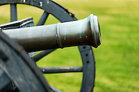 American cannon from Revolutionary War era, Saratoga National Historic Park, Stillwater, New York, USA
