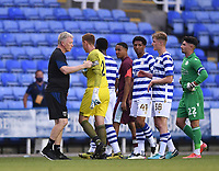 21st July 2021; Madejski Stadium, Reading, Berkshire, England; Pre Season Friendly Football, Reading versus West Ham United; David Moyse Manager of West Ham shakes hands with players after the match with West Ham winning 0-3