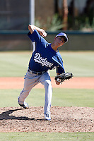 Brandon Martinez - Los Angeles Dodgers 2009 Instructional League. .Photo by:  Bill Mitchell/Four Seam Images..
