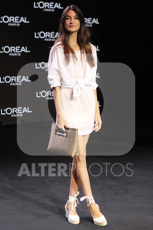 Estela Grande at the L'Oreal Paris anniversary fashion show during the Mercedes Benz Fashion Week Spring/Summer 2020 at Ifema on July 10, 2019 in Madrid, Spain.(ALTERPHOTOS/ItahisaHernadez)