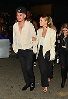 Ashlee Simpson And Evan Ross At Hyde NightClub In Hollywood