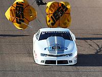 Feb 23, 2019; Chandler, AZ, USA; NHRA pro stock driver Rodger Brogdon during qualifying for the Arizona Nationals at Wild Horse Pass Motorsports Park. Mandatory Credit: Mark J. Rebilas-USA TODAY Sports