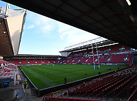1st October 2021;  Ashton Gate Stadium, Bristol, South Gloucestershire, England; Gallagher Premier League rugby, Bristol Bears versus Bath Rugby: General View of Ashton Gate Stadium