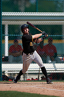 Pittsburgh Pirates Kyle Watson (83) during a minor league Spring Training game against the Philadelphia Phillies on March 13, 2019 at Pirate City in Bradenton, Florida.  (Mike Janes/Four Seam Images)