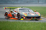 Clearwater Racing, #61 Ferrari 488 GT3, driven by Mok Wen Sun, Keita Sawa and Matt Griffin in action during the Free Practice 1 of the 2016-2017 Asian Le Mans Series Round 1 at Zhuhai Circuit on 29 October 2016, Zhuhai, China.  Photo by Marcio Machado / Power Sport Images