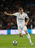 Real Madrid CF's Toni Kroos  during UEFA Champions League match, groups between Real Madrid and Galatasaray SK at Santiago Bernabeu Stadium in Madrid, Spain. November, Wednesday 06, 2019.(ALTERPHOTOS/Manu R.B.)<br /> Champions League 2019/2020  <br /> Real Madrid - Galatasaray<br /> Foto Alterphotos / Insidefoto <br /> ITALY ONLY