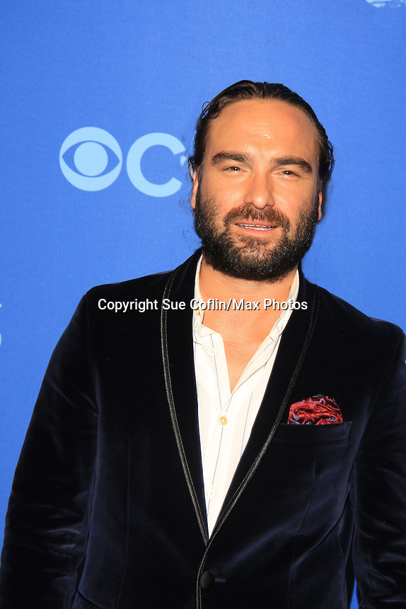 Johnny Galecki at the CBS Upfront on May 15, 2013 at Lincoln Center, New York City, New York. (Photo by Sue Coflin/Max Photos)