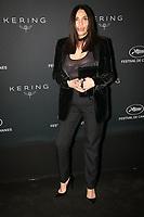 Béatrice Dalle en photocall avant la soiréee Kering Women In Motion Awards lors du soixante-dixième (70ème) Festival du Film à Cannes, Place de la Castre, Cannes, Sud de la France, dimanche 21 mai 2017. Philippe FARJON / VISUAL Press Agency