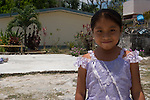A school girl in Coba, Mexico.