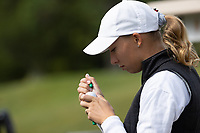 STANFORD, CA - APRIL 24: Alexandra Forsterling at Stanford Golf Course on April 24, 2021 in Stanford, California.