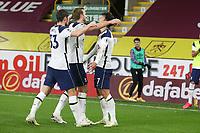 26th October 2020, Turf Moor, Burnley UK; EPL Premier League football, Burnley v Tottenham Hotspur; Goal celebration for 0-1 by Tottenham Hotspur forward Son Heung-Min (7)  scoring the winning goal