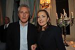 FRANCESCO RUTELLI E BARBARA PALOMBELLI<br /> PREMIO GUIDO CARLI - SECONDA EDIZIONE<br /> RICEVIMENTO A CASINA VALADIER ROMA 2011