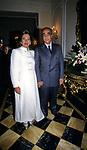 ANGELO E AURORA SANZA<br /> COCKTAIL PARTY N ONORE DI GORBACIOV - HOTEL BAGLIONI ROMA 11-2000