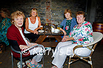 Enjoying the evening in Benners on Friday, l to r: Alice Tiernan, Patsy O'Connor, Helen Waters and Ann Ryle (All Tralee).