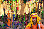 Jewelry seller at market, Rajasthan, India