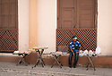 27/07/18<br /> <br /> Cake seller, Trinidad, Cuba.<br /> <br /> All Rights Reserved, F Stop Press Ltd. (0)1335 344240 +44 (0)7765 242650  www.fstoppress.com rod@fstoppress.com