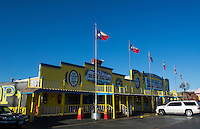Amarillo Texas famous Big Texas Steak Ranch restaurant home of the Free 72 oz steak if you can eat it all, inside, bar, scene