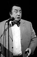 July 1987  File Photo - Raymond Devos at  Festival Juste Pour Rire Gala