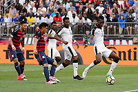 East Hartford, CT - Saturday July 01, 2017: John Boye during an international friendly match between the men's national teams of the United States (USA) and Ghana (GHA) at Pratt & Whitney Stadium at Rentschler Field.