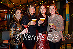 Catriona Dalhunty, Siobhan Cotter, Olivia Walshe and Liz McAuliffe enjoying the evening in the Ashe Hotel on Friday.