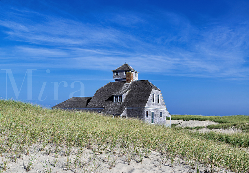 Old Harbor Life Saving Station Museum, Race Point Beach, Cape Cod, Massachusetts, , USA