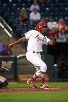Springfield Cardinals first baseman David Washington (30) at bat during a game against the Frisco RoughRiders  on June 3, 2015 at Hammons Field in Springfield, Missouri.  Springfield defeated Frisco 7-2.  (Mike Janes/Four Seam Images)