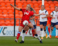 Amalle Eikland of Reading during Tottenham Hotspur Women vs Reading FC Women, Barclays FA Women's Super League Football at the Hive Stadium on 7th November 2020