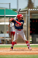 GCL Cardinals Zade Richardson (31) during a Gulf Coast League game against the GCL Marlins on August 12, 2019 at the Roger Dean Chevrolet Stadium Complex in Jupiter, Florida.  GCL Marlins defeated the GCL Cardinals 9-2.  (Mike Janes/Four Seam Images)