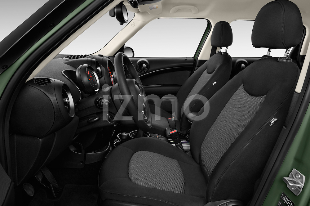 Front seat view of 2016 MINI Countryman One 5 Door Hatchback Front Seat  car photos