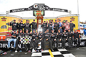 NASCAR Camping World Truck Series <br /> Texas Roadhouse 200<br /> Martinsville Speedway, Martinsville VA USA<br /> Saturday 28 October 2017<br /> Noah Gragson, Switch Toyota Tundra, celebrates in victory lane.<br /> World Copyright: John K Harrelson/LAT Images