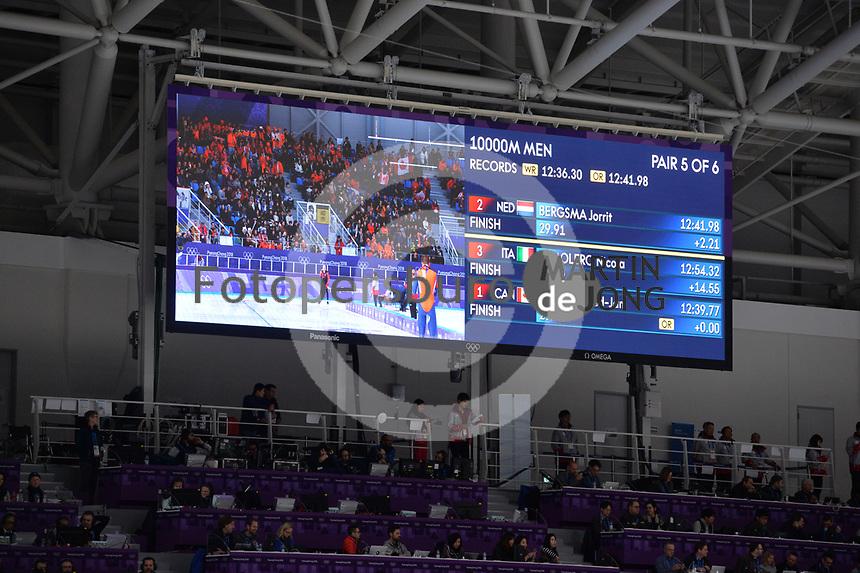 OLYMPIC GAMES: PYEONGCHANG: 14-02-2018, Gangneung Oval, Long Track, 10.000m Men, ©photo Martin de Jong