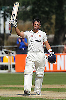 Ryan ten Doeschate of Essex celebrates a century, 100 runs for his team - Essex CCC vs Northamptonshire CCC - LV County Championship Division Two Cricket at Castle Park, Colchester Cricket Club - 23/08/13 - MANDATORY CREDIT: Gavin Ellis/TGSPHOTO - Self billing applies where appropriate - 0845 094 6026 - contact@tgsphoto.co.uk - NO UNPAID USE