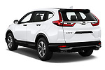Car pictures of rear three quarter view of 2020 Honda CR-V LX 5 Door SUV Angular Rear
