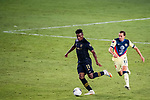 Jose Cifuentes of Los Angeles FC (USA) in action against Club America (MEX) during their CONCACAF Champions League Semi Finals match at the Orlando's Exploria Stadium on 19 December 2020, in Florida, USA. Photo by Victor Fraile / Power Sport Images