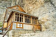 Image Ref: SWISS069<br /> Location: Berggasthaus Aescher, Switzerland<br /> Date of Shot: 21st June 2017
