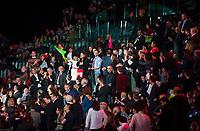 Anne Hidalgo au Grand meeting de BenoÓt Hamon ‡ L'Accorhotels Arena Bercy ‡ Paris le 19 mars 2017 . # GRAND MEETING DE BENOIT HAMON A PARIS
