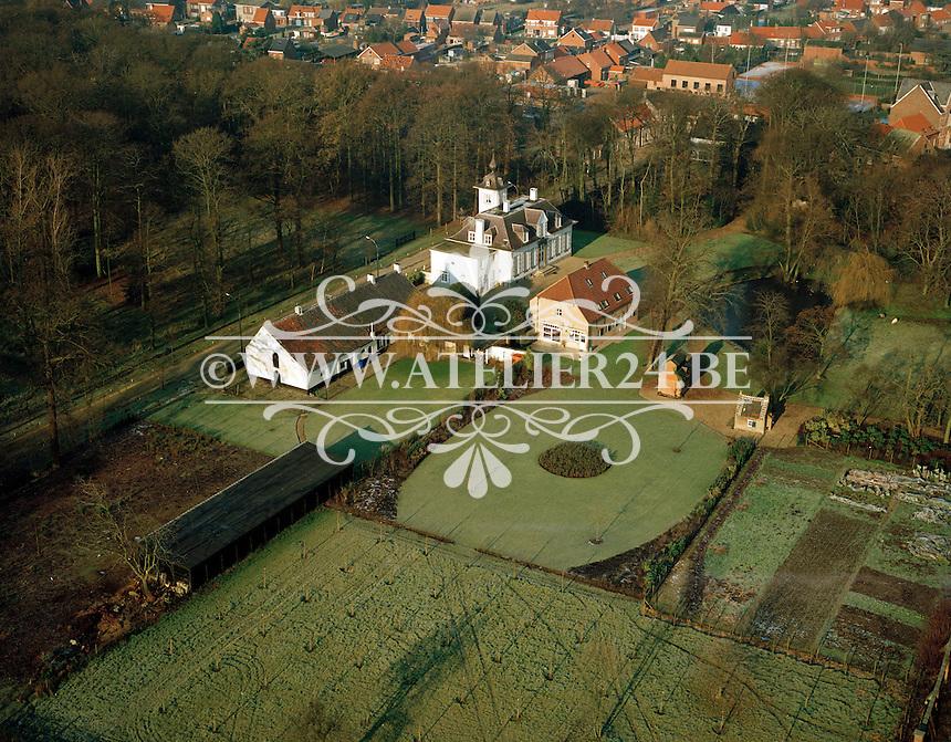 December 1995. Kasteel Reigersbos in Berendrecht.