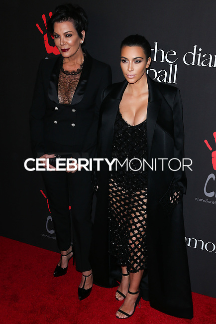 BEVERLY HILLS, CA, USA - DECEMBER 11: Kris Jenner, Kim Kardashian arrive at Rihanna's 1st Annual Diamond Ball held at The Vineyard Beverly Hills on December 11, 2014 in Beverly Hills, California, United States. (Photo by Xavier Collin/Celebrity Monitor)