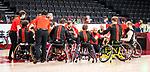 Tokyo 2020 - Wheelchair Basketball // Basketball en fauteuil roulant.<br /> Canada takes on Japan in a men's preliminary game // Le Canada affronte le Japon dans un match préliminaire masculin. 28/08/2021.