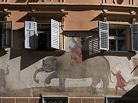 Hotel Elephant in Brixen, Region Südtirol-Bozen, Italien, Europa<br /> Hotel Elephant in Brixen, Region South Tyrol-Bolzano, Italy, Europe