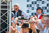 Team NZ Celebrate: NZL-Tim Price and Ringwood Sky Boy take the Title for the 2018 GBR-Land Rover Burghley Horse Trials CCI4*. Sunday 2 September. Copyright Photo: Libby Law Photography