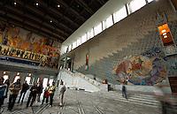 Rathaushalle im Rådhuset, Oslo, Norwegen