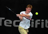 Macsen Paul Sisam. 2019 Wellington Tennis Open at Renouf Centre in Wellington, New Zealand on Saturday, 21 December 2019. Photo: Dave Lintott / lintottphoto.co.nz