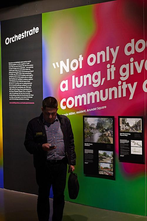 © John Angerson<br /> 150109 - Them design - Rethinking the Urban Landscape Exhibition - Building Centre.<br /> Licence expires November 2019